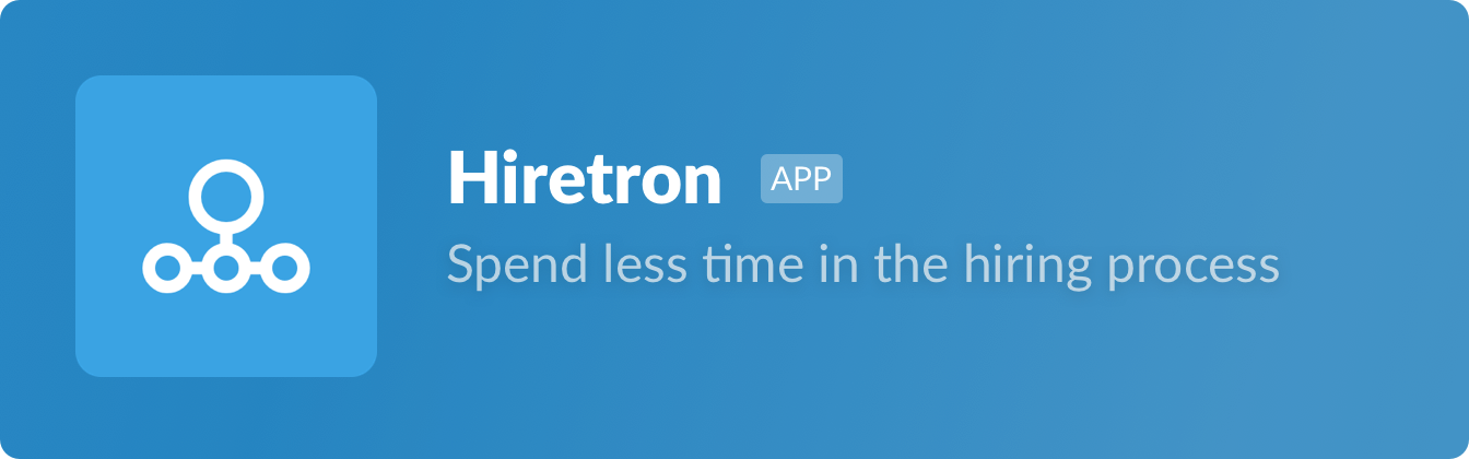 A tasteful blue for Hiretron