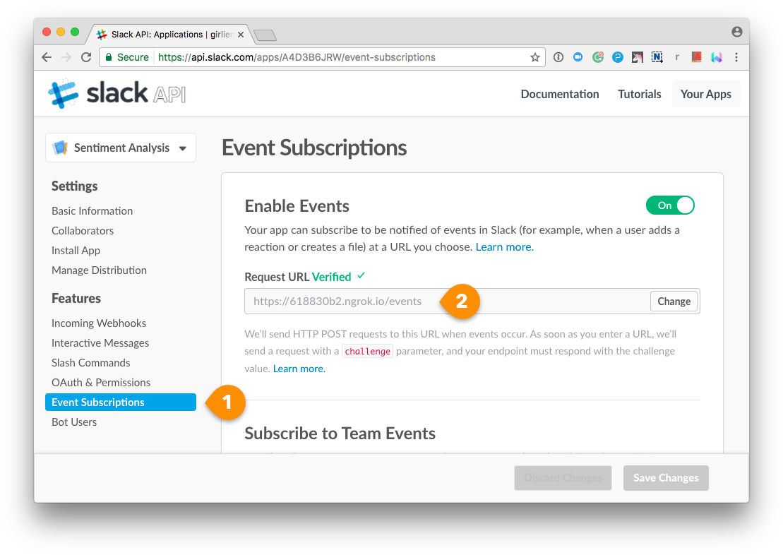 App - Events