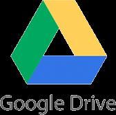 Google ドライブのロゴ