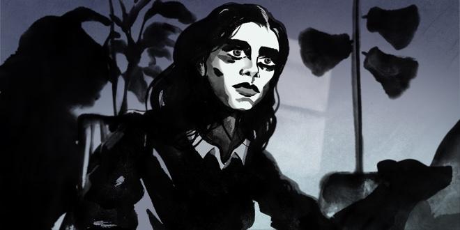 An illustration of Taryn Wright by Matt Huynh