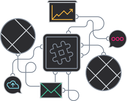 Apps that work well with Enterprise Grid. Install these apps for a seamless experience working across workspaces and shared channels.